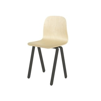 In2Wood Kinderstoel Chair Large | Black