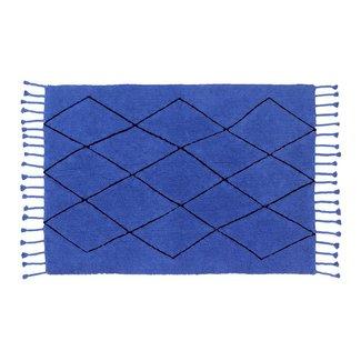 Lorena Canals Bereber Blue | Vloerkleed 140 x 200 cm