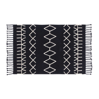 Lorena Canals Bereber Black | Vloerkleed 140 x 200 cm