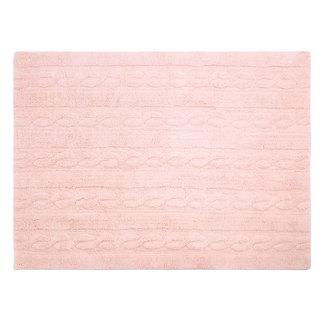 Lorena Canals Trenzas Zacht Roze | Vloerkleed 80 x 120 cm