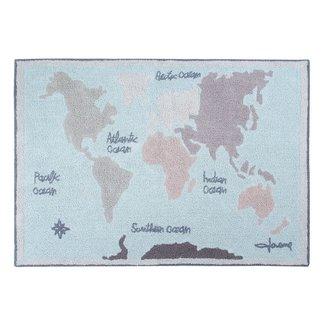 Lorena Canals Vintage Map | Vloerkleed 140 x 200 cm