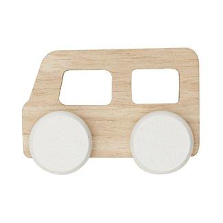 By ASTRUP Houten speelgoedbus | 9 cm
