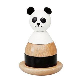 By ASTRUP Houten Stapeltoren Panda