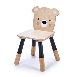 Tender Leaf Toys Houten Kinderstoel Beer   Forest Bear Chair
