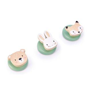 Tender Leaf Toys Houten Haakjes Bosdieren | Forest Hooks