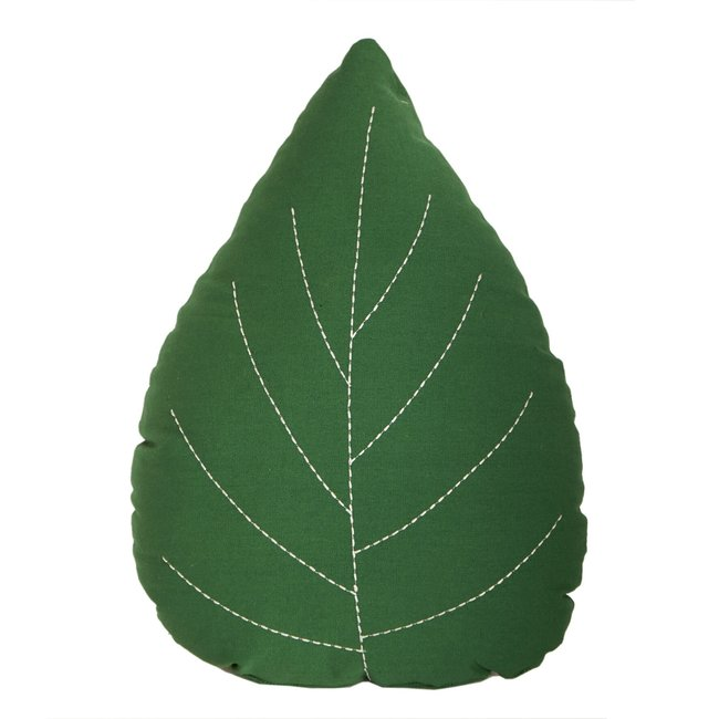 Roommate Blad Kussen - Leaf Cushion | Green