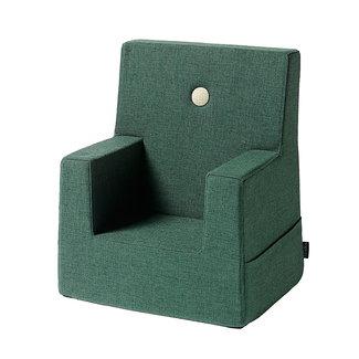 by KlipKlap Kinderstoel - KK Kids Chair | Deep Green with Light Green