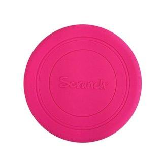 Scrunch Frisbee   Bright Pink