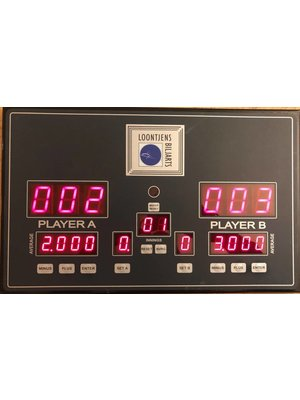 Electronisch Scoredisplay 2 players