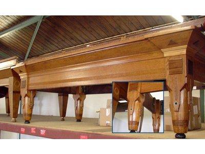 "Billiard table ""Schepper"" 210x105cm oak inlay"