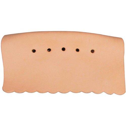 Riley Preformed leather snooker pocket, side