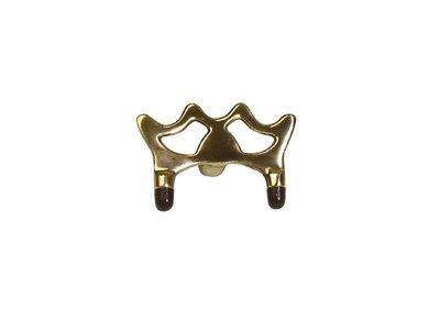Brass bridge head