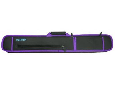 Molinari Soft cue bag 2b/4s purple/black