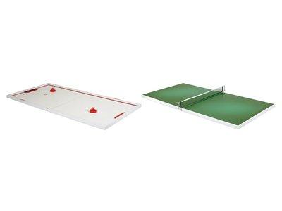 Switch-Top Air Hockey & Tafeltennis