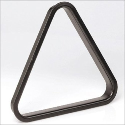 Plastic pool triangle 57.2mm black