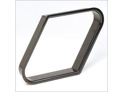 Plastic 9-ball triangle zwart 57.2mm