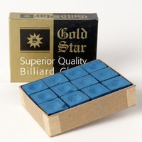 Goldstar chalk blue box 12-pce.