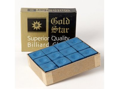Goldstar chalk blue box 12-pce.