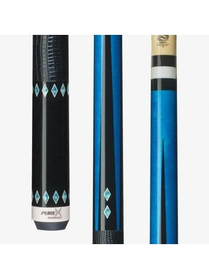 Players PureX HXT32 playing cue /black-blue LW