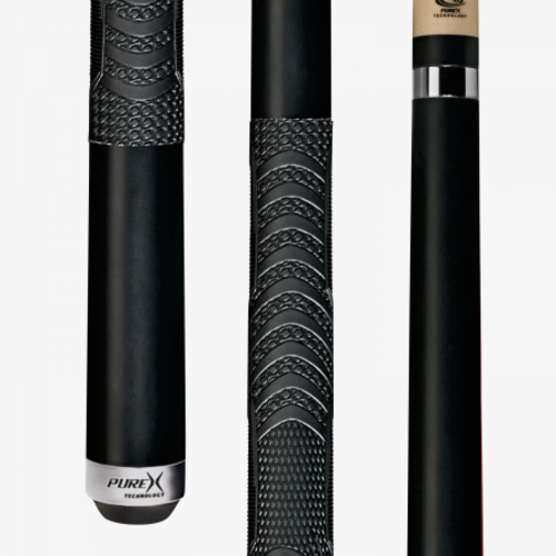 Players PureX HXTC13 playing cue / black with wrap