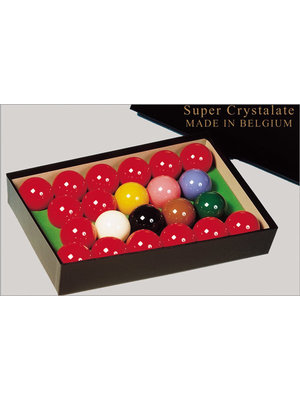 Aramith super crystalate snookerballen