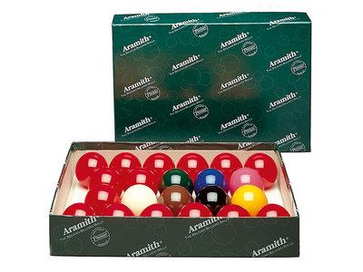 Aramith Snooker balls 52.4mm
