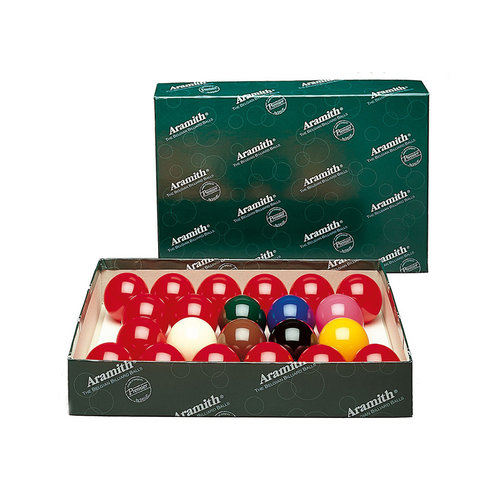 Aramith Snooker ballen 52.4mm