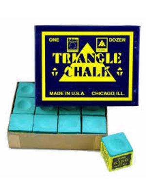 triangle chalk green 12 pc.