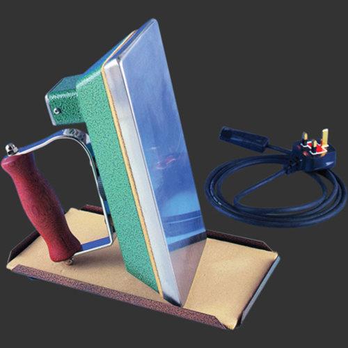 strijkijzer met thermostaat voor snookerlaken