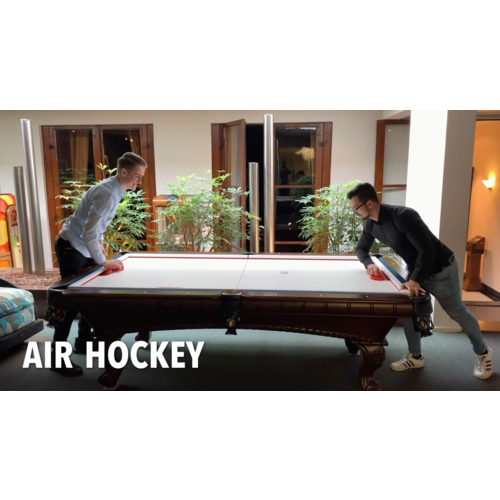 Switch-Top Air Hockey & Tafeltennis