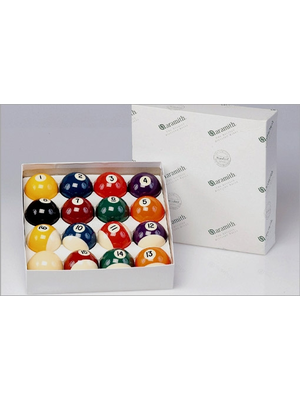Aramith poolballen standaard 54mm