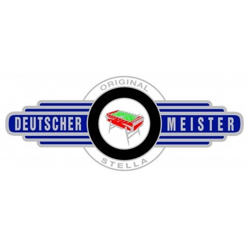 Deutscher Meister  Voetbaltafel PRIMALINE zwart