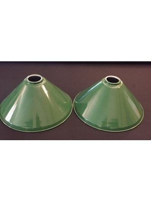 lamp shade green 37 cm