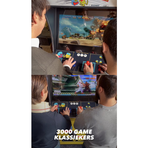 Loontjens @home  Retro Arcade Machine with 3000 Games!