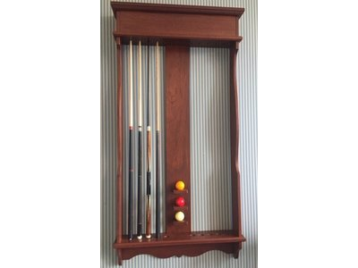 Roothaert classic wall cue rack carom