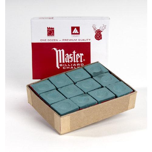 Master billiard chalk box 12 pieces