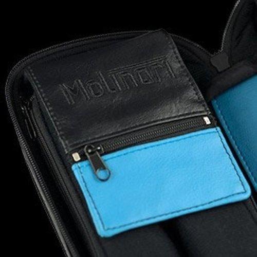 Molinari cue bag 3B /6S black/cyan