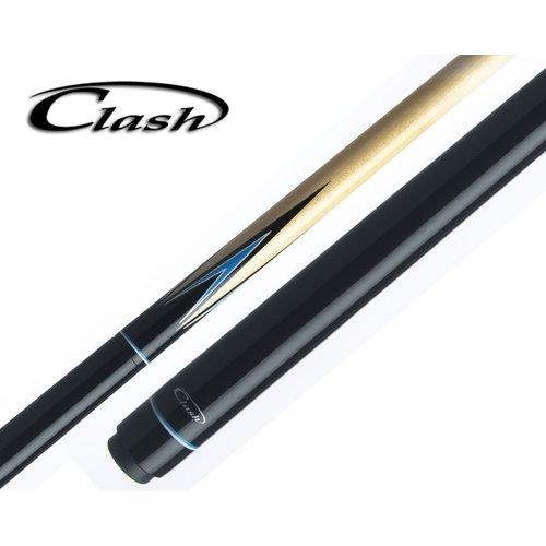 Clash Jump cue black/blue
