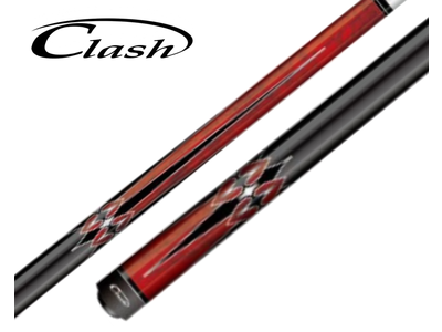 Clash model 1 red/black 12.75mm