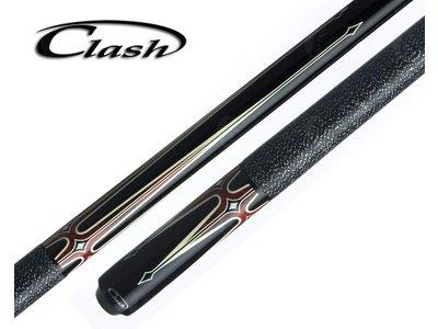 Clash model 4 black/red 12.75mm
