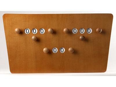 Score board 2 players