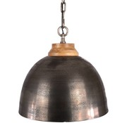 Bronx71 Hanglamp Boston Raw Nickel 44 cm