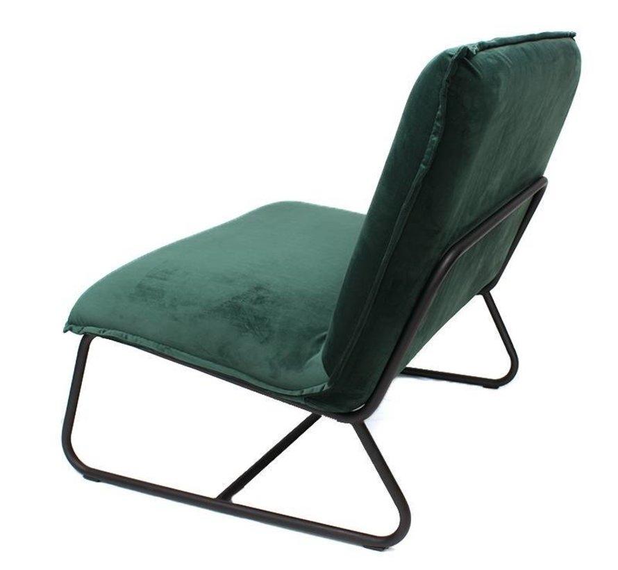 Paris Fauteuil velvet groen
