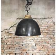 Bronx71 Industriële hanglamp Boston Raw Nickel 44 cm