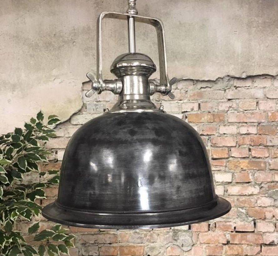 Hanglamp Miami Raw Nickel 46 cm