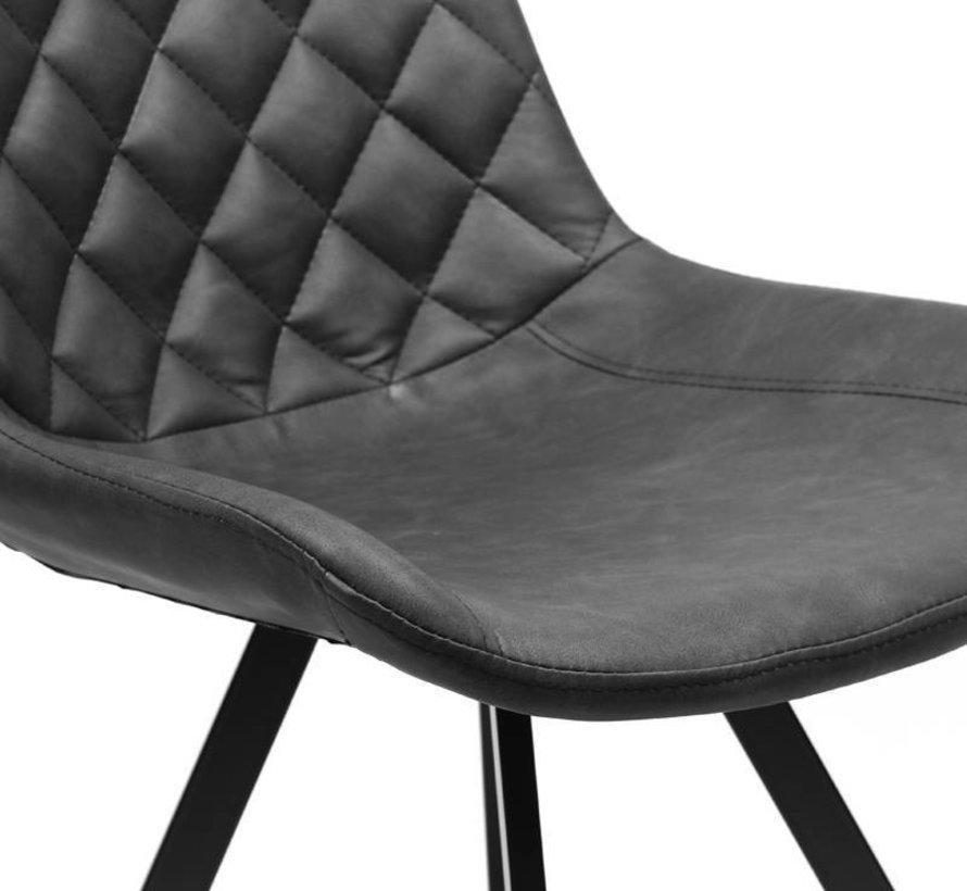 Industriële stoel Diamond zwart