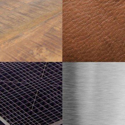 Materiaalsoorten Labelwise meubilair