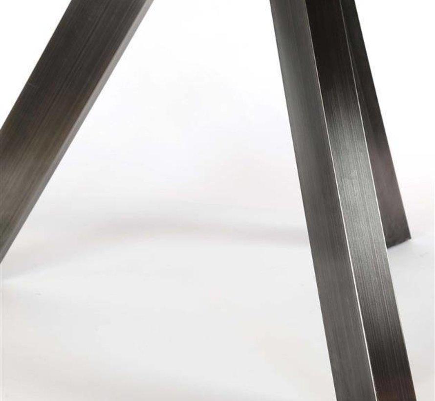 Eettafel Jill rond acacia Ø135 x 76 cm