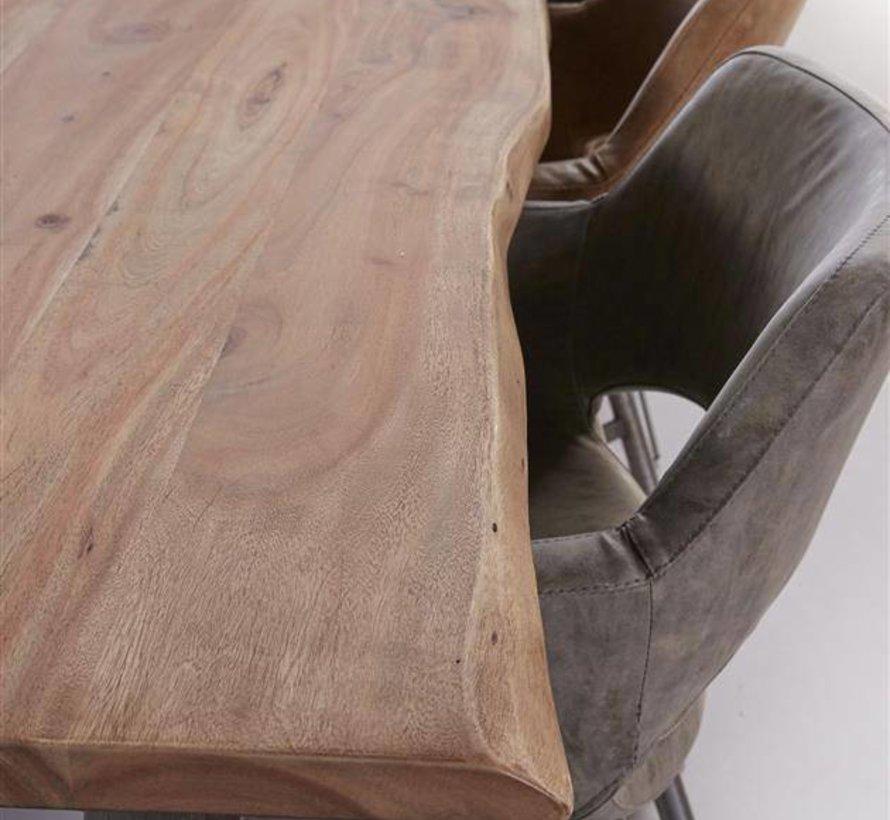 Eettafel Leon Acacia 200 x 100 x 77 cm