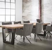 Eettafel Britt Acacia 300 x 100 cm